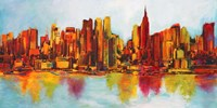 New York Abskyline Fine Art Print
