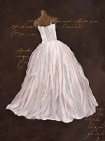 Dressed in White I Fine Art Print