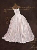 Dressed in White I Framed Print