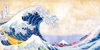 Hokusai's Wave 2.0 (Detail) Fine Art Print