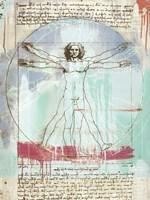 Vitruvian Man 2.0 Fine Art Print