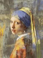 Vermeer's Girl 2.0 Fine Art Print