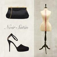 Noir Satin Fine Art Print