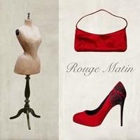 Rouge Matin Fine Art Print