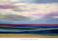 Purple Horizon Fine Art Print