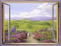 Paesaggio Toscano Fine Art Print