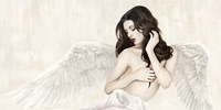 Inspiring Angel (Detail) Fine Art Print