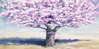 Peach Tree Fine Art Print
