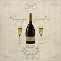 Champagne Grand Cru Fine Art Print