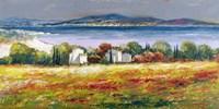 Borgo Mediterraneo Fine Art Print