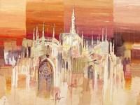 Milano al Tramonto Fine Art Print