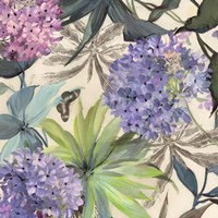 Lilac Hydrangeas Fine Art Print