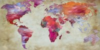 World in Colors Fine Art Print