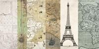 Cahiers de Voyage I Fine Art Print