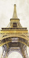 Gilded Eiffel Tower Fine Art Print