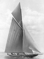 The Vanitie During the America's Cup, 1910 Fine Art Print