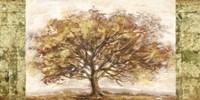 Golden Tree Panel Fine Art Print