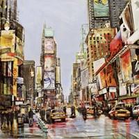 Times Square Jam Fine Art Print