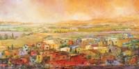 Villaggio delle Colline Fine Art Print