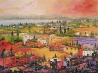Villaggio delle Praterie Fine Art Print