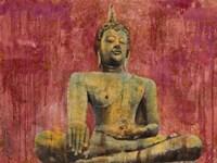 Golden Buddha Fine Art Print