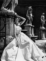 Evening Gown, Colosseo, Roma 1952 (Detail) Fine Art Print