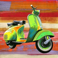 Pop Scooter I Fine Art Print