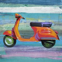 Pop Scooter II Fine Art Print