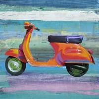 Pop Scooter II Framed Print