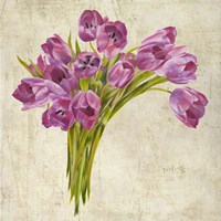 Bouquet de Tulipes Fine Art Print