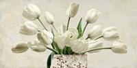 Bouquet Blanc Fine Art Print