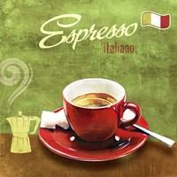 Espresso I Framed Print
