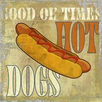 Hot Dog Fine Art Print