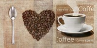 I Love Coffee Fine Art Print