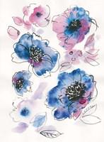 Blue Notes II Fine Art Print