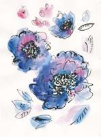 Blue Notes III Fine Art Print