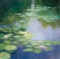 Blue Lily I Fine Art Print