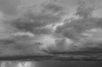 Luminous Clouds II BW Fine Art Print