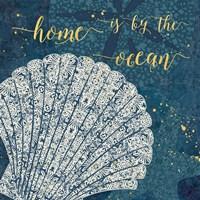 Coastal Lace III Fine Art Print