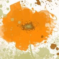 Modern Orange Fine Art Print