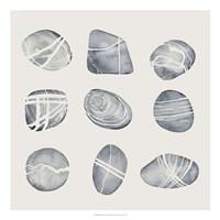 River Worn II Framed Print