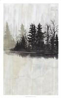 Pine Island I Framed Print