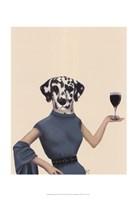 Dalmatian Wine Snob Fine Art Print
