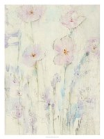 Lilac Floral I Framed Print