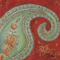 Paisley Wave I Fine Art Print
