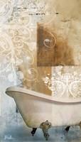 Bathroom & Ornaments I Fine Art Print