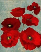 Kindle's Poppies II Fine Art Print