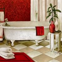 Red Bain I Fine Art Print