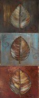New Leaf Panel I (Vertical) Fine Art Print