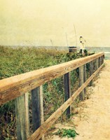 Beach Rails I Fine Art Print